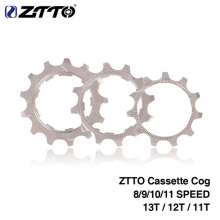 ZTTO 1 шт. MTB дорожный велосипед свободного хода Cog 8 9 10 11 скорость 11T 12T 13T велосипедный Кассета звездочки аксессуары для Shimano