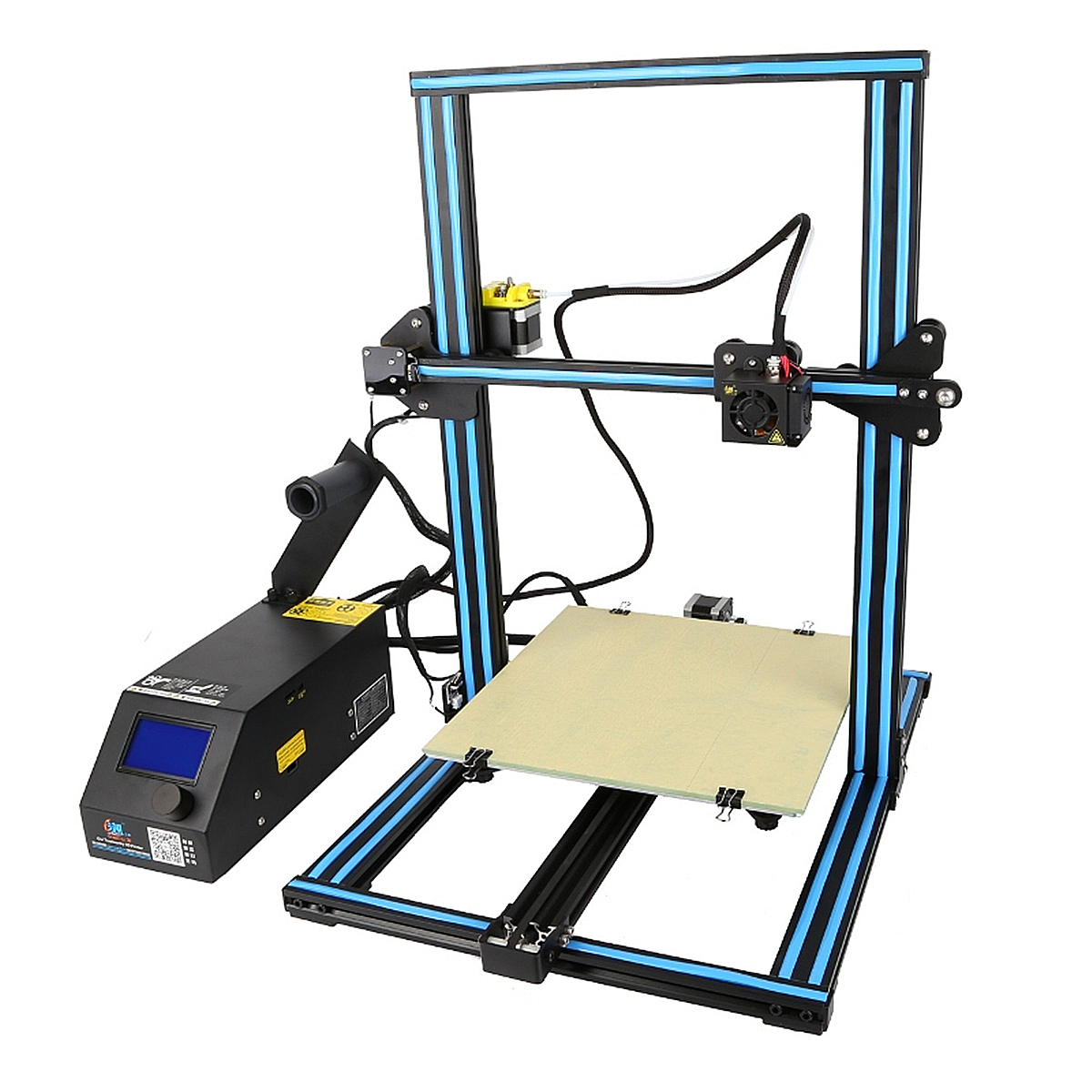 Upgrade CR-10S 3D Printer DIY Kit Large Printing Size Z-axis 1.75mm Filament Diameter EU Plug Optional Creality 3D Printer creality 3d cr 10s diy 3d printer kit large printing size 300 300 400mm dual z rod resume printing filament detect function