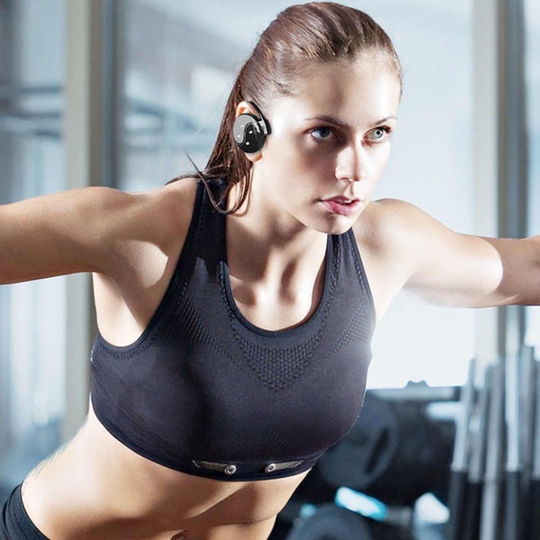 Mini 603 auriculares inalámbricos Bluetooth auriculares estéreo deportivos Fm Radio Mp3 reproductor de música micro-tf ranura para tarjeta con micrófono