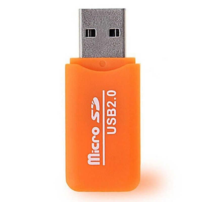 مايكرو قارئ البطاقات SD Usb2.0/1.1 ميناء الذاكرة Sdhc Sdxc Tf T-Flash محول عشوائي