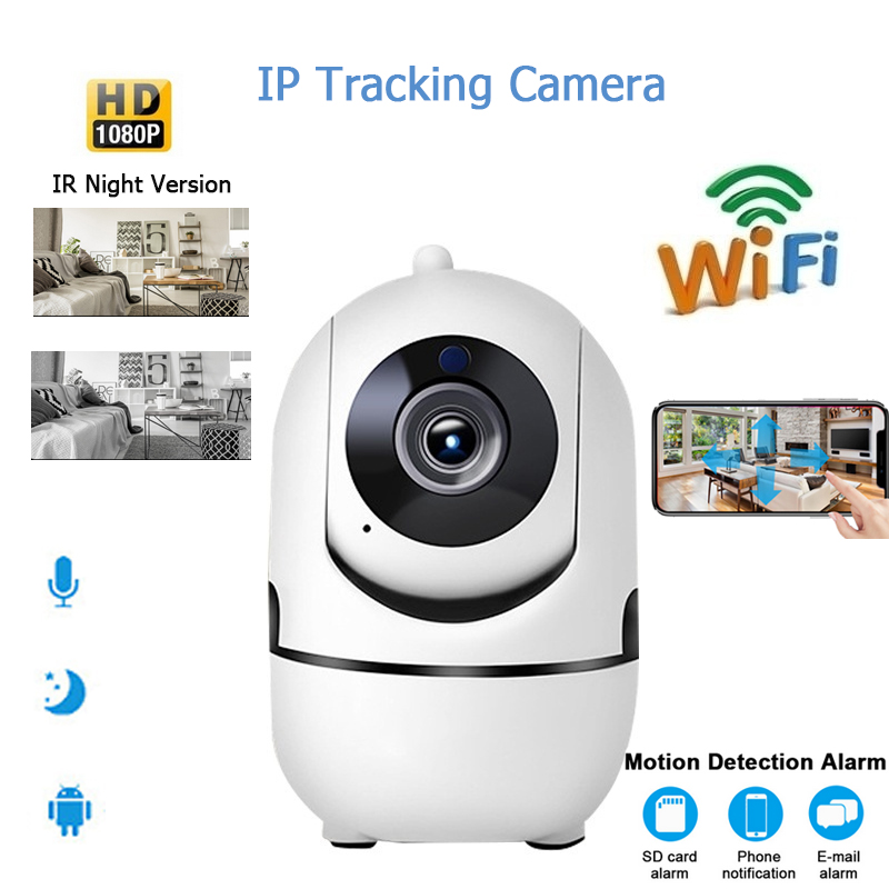 1080 P HD Wifi Wireless Home Sicherheit IP Kamera Outdoor Security Netzwerk CCTV Überwachung Kamera Mini Nacht Vision Baby Monitor