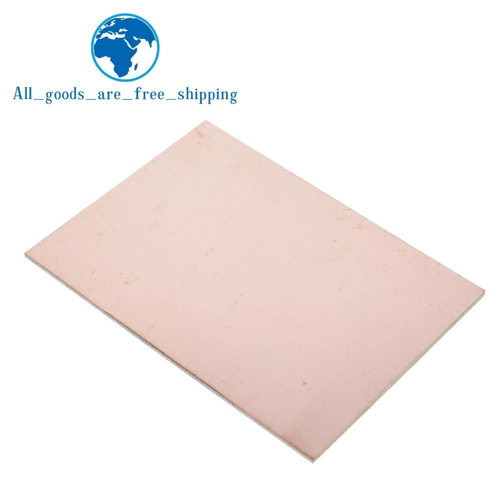 Able 1pcs Fr4 Pcb 7x10cm 7*10 Single Side Copper Clad Plate Diy Pcb Kit Laminate Circuit Board Relieving Heat And Sunstroke Pcb & Pcba Passive Components