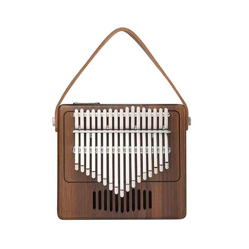 New Design 17 Key Kalimba Mbira Walnut Solid Wood Finger Thumb Piano Keyboard Musical Instrument Kalimba