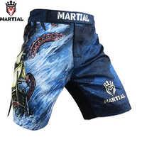 Martial :The EXPLORATION shorts muay thai sublimation short mma four way stretch boxing shorts kickbox trunks