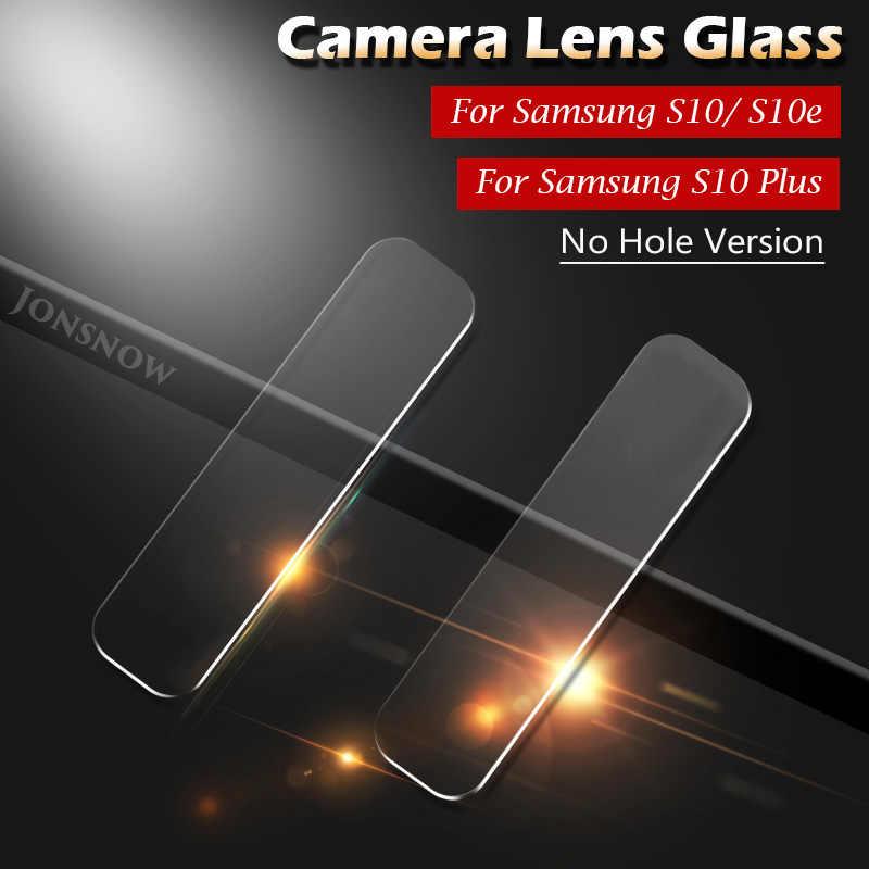 JONSNOW لسامسونج غالاكسي S10 S10e S10 لايت S10 زائد كاميرا الزجاج واقي للشاشة واضح كاميرا عدسة طبقة رقيقة واقية