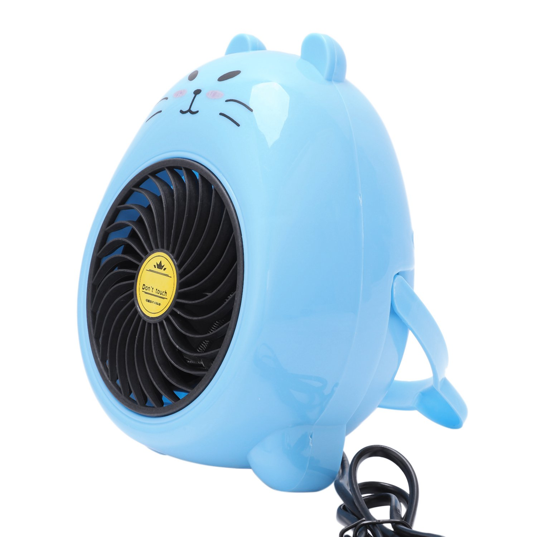 New Hot 220V 400W Mini Small Electric Heaters Fan Home Office Heater Warmer Electric Warming Treasure,US Plug