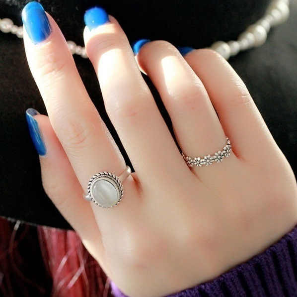 New Fashion Chrysanthemum Jwelry for Women  Engagement Ring Gifts for Women Dropshipping Womens Jewellery