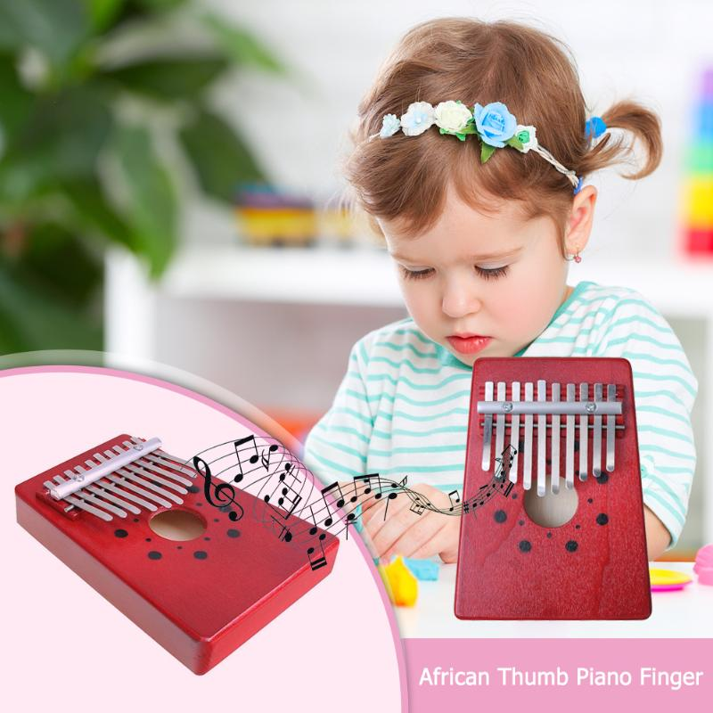 10 Teclas De Dedo Kalimba Mbira Sanza Pulgar Piano Bolsillo Tamaño Soporte Bolsa Gecko Teclado Marimba Madera Instrumento Musical Los Consumidores Primero