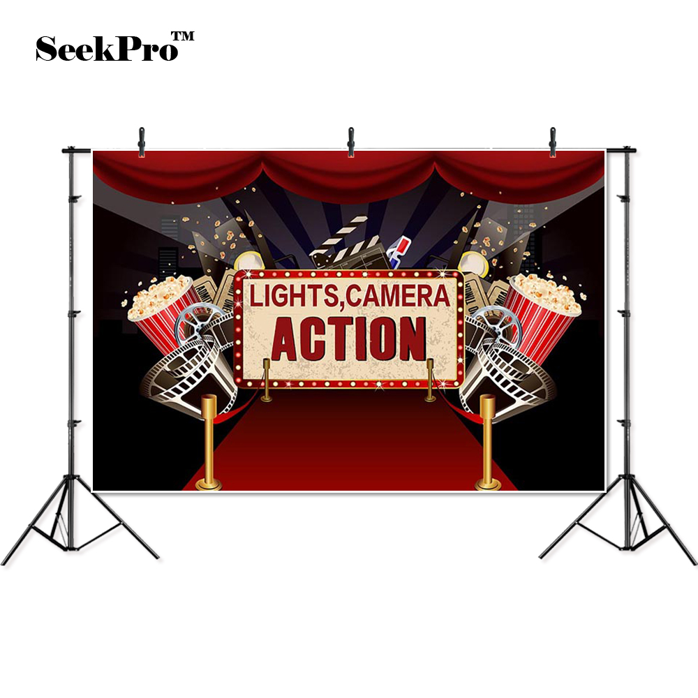 thin vinyl lights camera action Popcorn kid baby children photo Backgrounds Professional indoor Photographic studio Backdrops