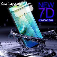 7D Full Protective Soft Hydrogel Film For Huawei P30 20 Mate 20 Lite Pro Cover Screen Protector Honor 10 Lite P Smart Film Case(China)