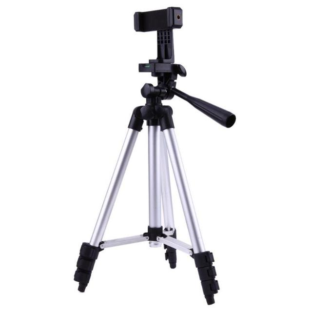 wholesale dealer c6c14 05d97 US $8.93 30% OFF|Universal Adjustable Professional Camera Tripod Stand  Holder For Smart Phone iPhone 6s, 6 6s /6plus Samsung S5 S4 S3 350mm-in  Tripods ...