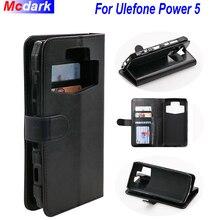 Для Ulefone Мощность 5 защитные чехлы для телефонов флип чехлы силиконовый чехол с держателем функции для Ulefone Мощность 5 бумажник чехол