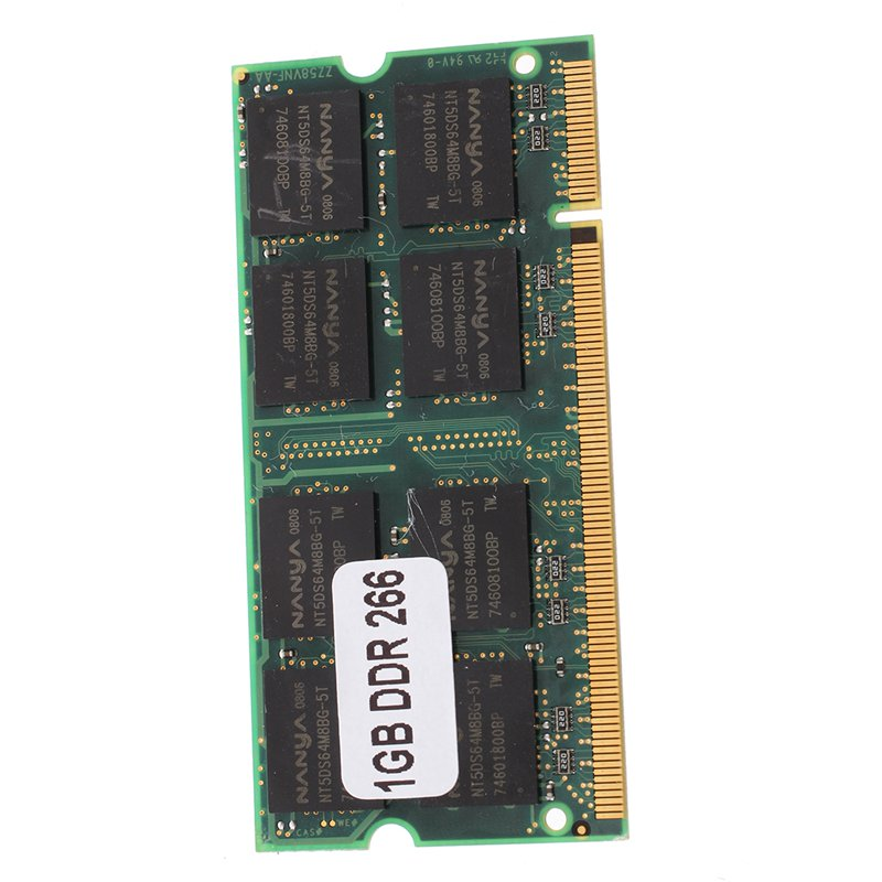 <font><b>1GB</b></font> Memory RAM Memory <font><b>PC2100</b></font> <font><b>DDR</b></font> CL2.5 DIMM <font><b>266MHz</b></font> 200-pin Notebook Laptop Connectors image