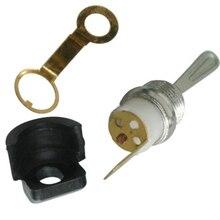 Wiosna części On/Off przełącznik tuleja tuleja dla chińskich 4500 5200 5800 Thermal Chainsaw US narzędzie zamienne części