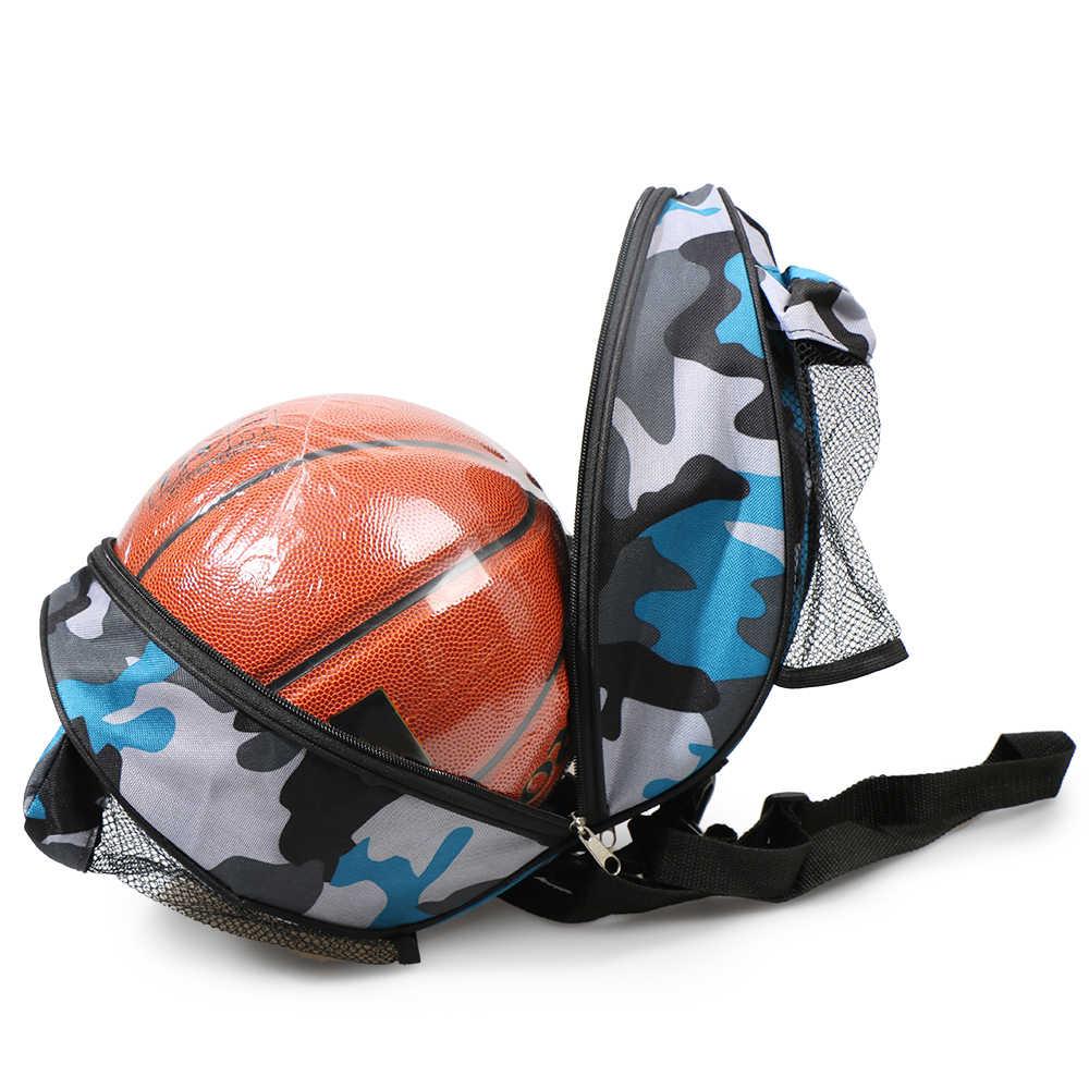 Pelota de baloncesto al aire libre bolsa redonda bolsa de hombro de baloncesto pelota de fútbol voleibol bolsa de transporte para hombres y mujeres