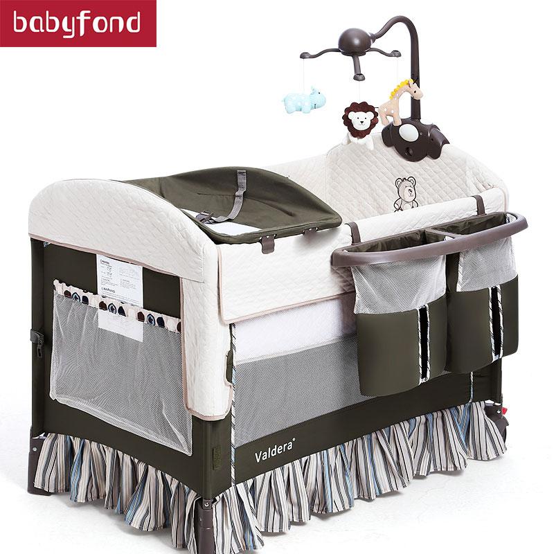 Aliexpress Com Buy 2018 Baby Cribs Valdera Baby Game Bed