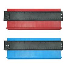 Plastic Profile Copy Gauge Irregular Shaper Contour Gauge Duplicator Wood Marking Tool Tiling Laminate Tiles Measuring Tools