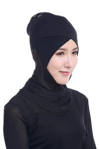 Image 5 - ใหม่ล่าสุด CHIC LADY Modal Hijab ฤดูร้อนผู้ใหญ่ผ้าพันคอ Hijabs อิสลามหมวก Bonnet นินจาคอมุสลิม Underscarf