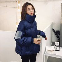 YYFS 2019 Ladies Winter Coat Thickened Big Parka Women Slim Long Female Version Bread Suit Large Jacket Women