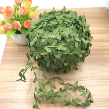 80/200M Long Artificial Plants Green Ivy Leaves Grape Vine Fake Willow Vines Home Wedding Bar Decoration 29