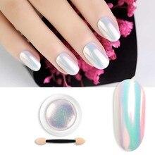 1Piece 5g Pearl Shell Shimmer Mermaid Nail Glitter Powder Gl