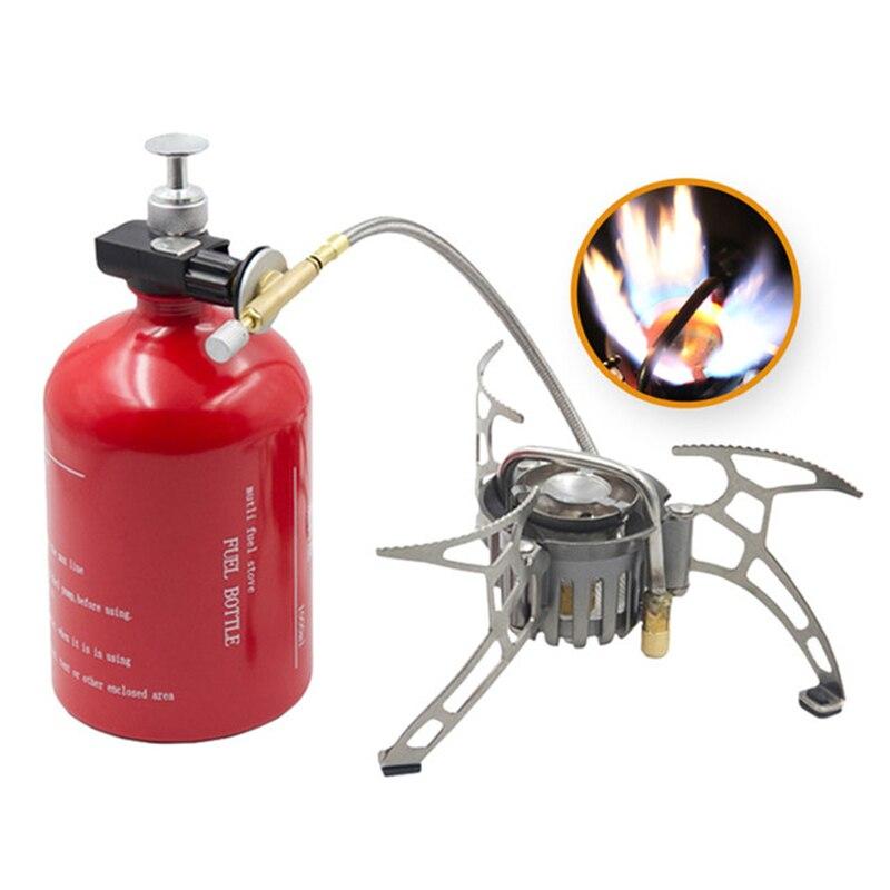 APG 1000 Ml cuisinière à essence extérieure multi-usages Camping huile et gaz cuisinière bouteille de carburant Camping outil en plein air Portable ustensiles de cuisine