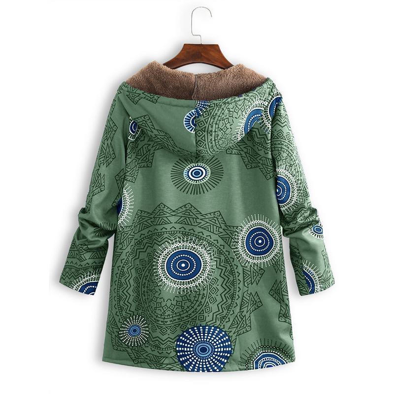 Plus Size M-2XL Winter Jacket Coat Women Hooded Overcoat Faux Fur Cotton Fleece Female   Parkas   Hoodies Long Coat Comfortable