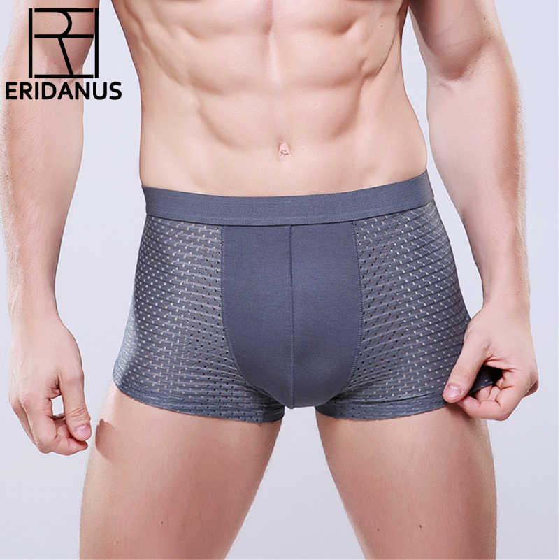 KF/_ New Big and Tall Mens Bamboo Fiber Underwear Shorts U-Design Underpants Cl