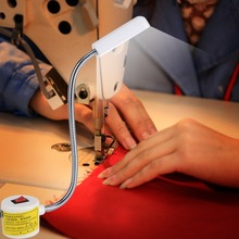 AC110-250V Industrial Sewing Machine Lamp 12 LED Magnetic Light Work Flexible USB Hot SaleHigh Quality