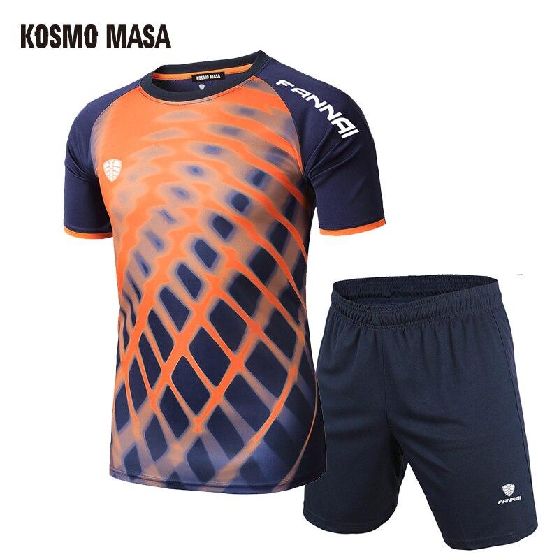 Herren-sets SchöN Kosmo Masa Sommer 2019 Lässige Männer Sport Anzug Laufen Männer Set T Shirt Shorts Schnell Trocken Atmungsaktive Männer 2 Stück Set Ms010