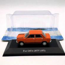 IXO Altaya 1:43 Fiat IAVA 128TV 1971 Diecast Models Limited Edition Toys Car Collection 1 43 ixo diecast model car brazilian classic fiat uno 1983 miniature vehicle