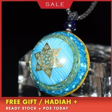 Elite Orgonite Energy Crystal Pendant Necklace Guardian Business Bring Lucky Stone Chakra Stone Pendant Birthday Gift C0095