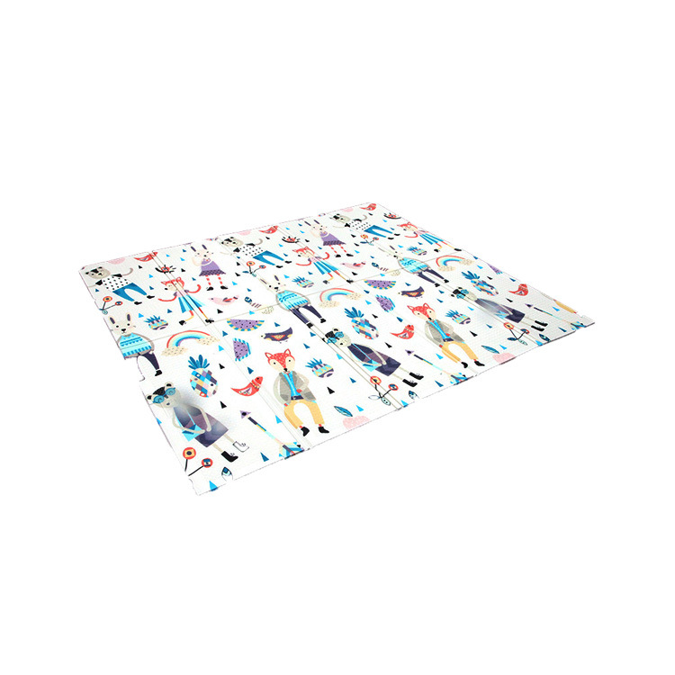 Puzzle tapis infantile brillant bébé tapis de jeu Xpe Puzzle enfants & #39 s tapis Tapete Infantil bébé chambre ramper Pad pliant tapis bébé voiture