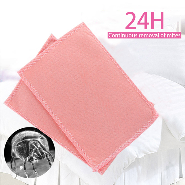 3pcs Dust Mite Killing Pad Anti-mite Pad Killing Small Worms Kitchen Bathroom Kids Room Household Cleaning Pad Mosquito Killer