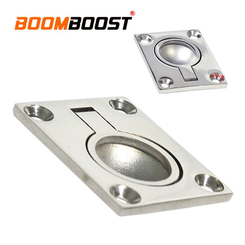 1 Unidadfácil De Instalar Anillo Con Asa De Anillo De Plata Bote Marino Con Escotilla /ascensor Lo Mejor En Conveniencia