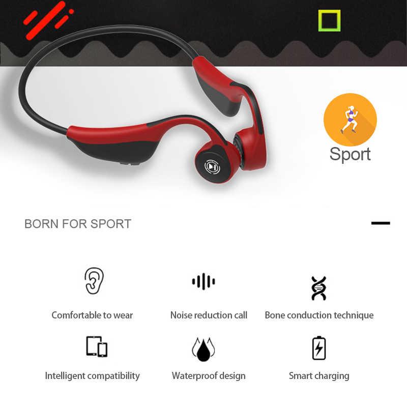 cbf8e304c9a Bluetooth headphones5.0 Bone Conduction Headsets Wireless Sports earphones  Handsfree HeadsetsSupport 2019 New Drop Shipping