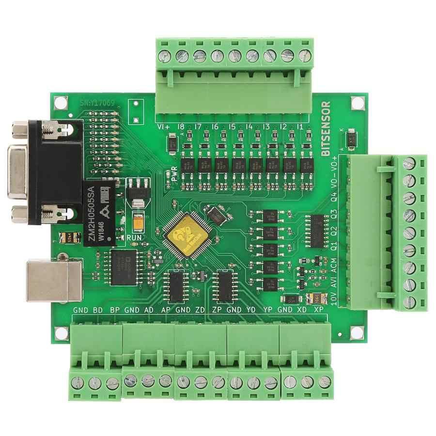 Carte de contrôleur de conducteur de moteur MACH3 pour le conducteur pas à pas numérique d'interface d'usb de gravure de CNC