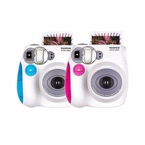 Image 5 - Nieuwe Genuine Fujifilm Instax Mini 7C 7S Camera 6 Kleuren Te Koop Wit Roze Blauw Instant Afdrukken Foto Film snapshot Schieten
