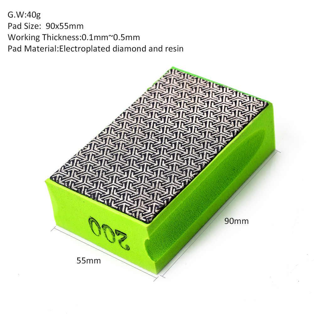 Greens Diamond Alfombrilla de pulido de piedra de granito con disco adhesivo