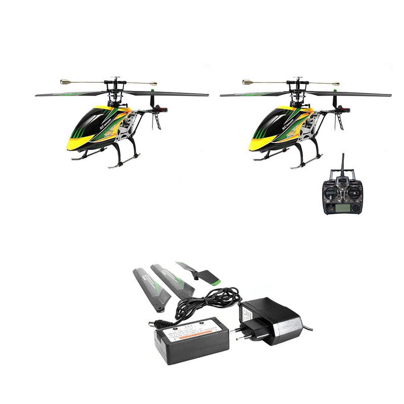 Remote Control Aircraft Brushless Motor Four-way RC Airplane Charging Model Aircraft Children's Toys Exquisite Gifts weili v252 genuine four aircraft with flashing lcd mini four rotor model airplane remote control toys