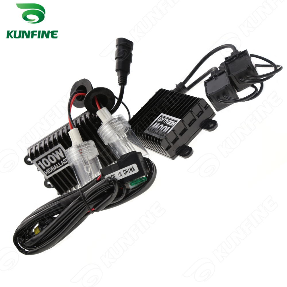 12v 100w 9006 Car HID Conversion Kit HID xenon KIT car HID headlight with 100 AC