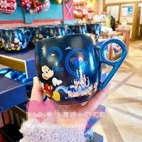 Disney Baby Keramik Tasse 2019 Kinder Kind Frauen Trinken 3d Cartoon Hause Wasser Süße Baby Flasche Milch-in Tassen aus Mutter und Kind bei