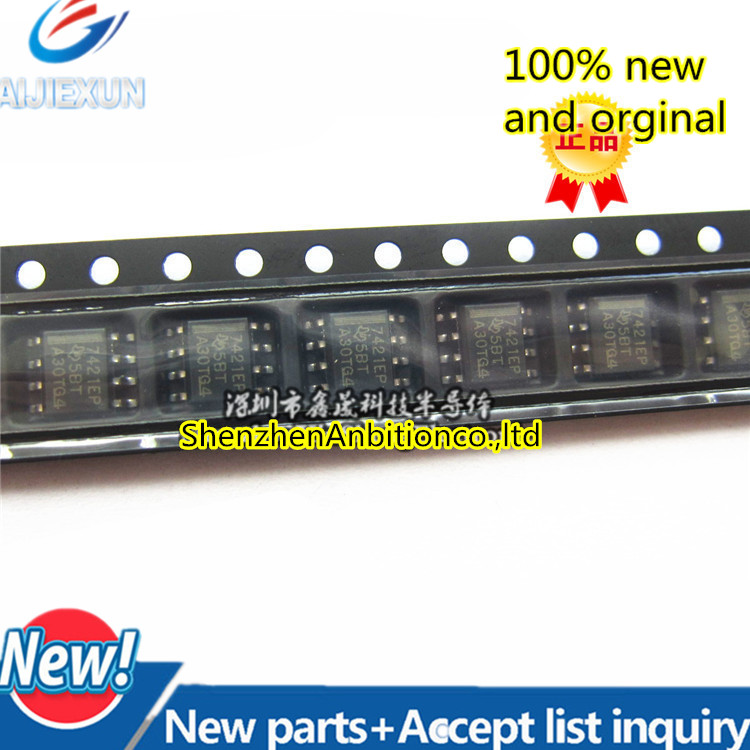 1pcs New And Orginal ISO7421MDREP ISO7421 7421 SOP8 Low-Power Dual Digital Isolators In Stock