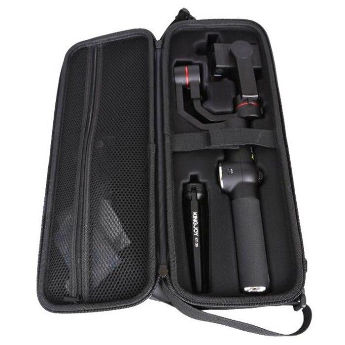 V5 3 Assi Handheld Telescopica Giunto Cardanico Ha Condotto La Luce di Riempimento di Messa a Fuoco Rettificato per 6 Pollici Smartphone - 6