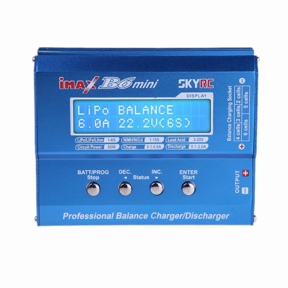 Chargeur d'équilibre professionnel SKYRC iMAX B6 déchargeur pour charge de batterie RC nouveau