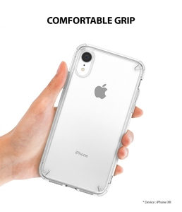 Image 3 - Ringke Fusion for iPhone XR Transparent Hard PC Back Soft TPU Frame Hybrid Impact Resistant for iPhone XR