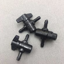 Système de commutateur de tuyau d'encre 2 voies pour JHF Vista Gongzheng Crystaljet Myjet UV solvant imprimante, valve manuelle 6*4mm, 10 pièces