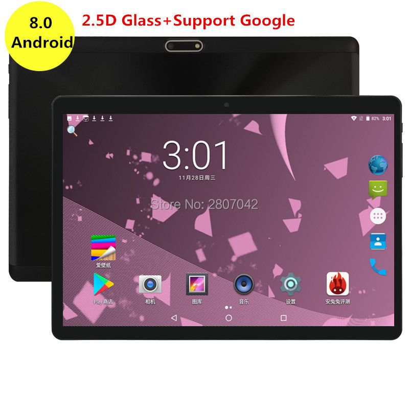 Google Ultra Slim Tablet PC 4GB RAM 64GB ROM Octa Core Dual Cameras 1280X800 2.5D Glass IPS Screen 8 Cores tablet 10.1 padGoogle Ultra Slim Tablet PC 4GB RAM 64GB ROM Octa Core Dual Cameras 1280X800 2.5D Glass IPS Screen 8 Cores tablet 10.1 pad
