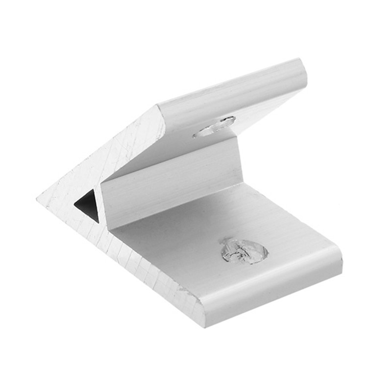 1pc Aluminium Connector Bracket 45 Degree Aluminum Profile Angle Corner Joint For 4040 Series Durable