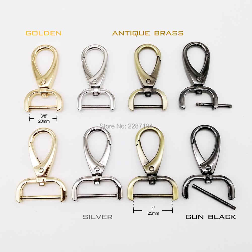 304 Stainless Steel Clasp Snap 25MM Lanyard Clips Hook Buckle Set of 100